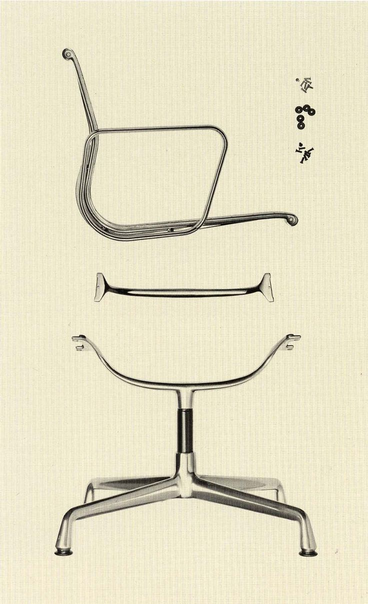 The Eames Aluminum Group by Vitra