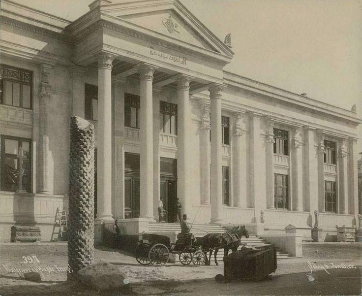 İstanbul, arkeoloji müzesi 1905