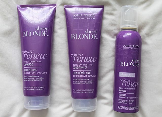 John Frieda colour renew system