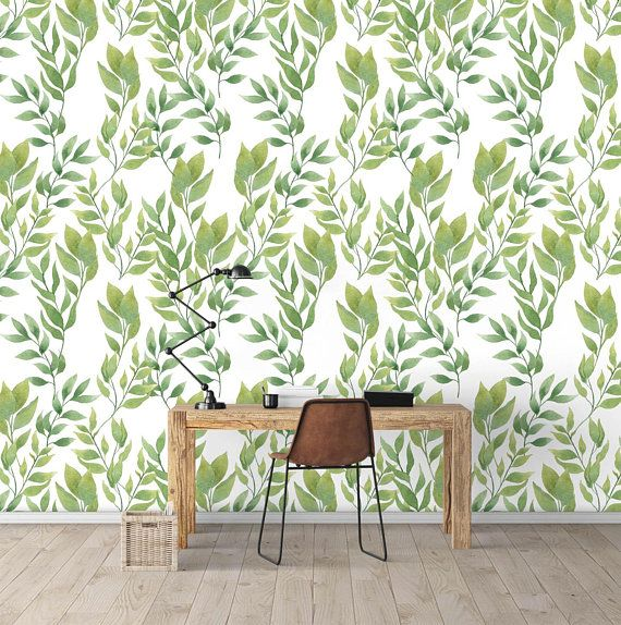 Wild Vines Wall Covering Art Removable Self Adhesive Wallpaper Etsy Vine Wall Wall Covering Self Adhesive Wallpaper