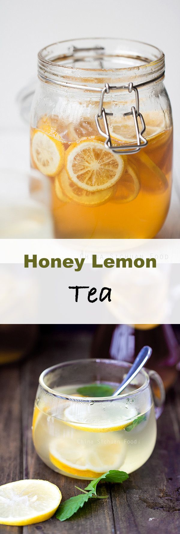 Healthy Honey Lemon tea