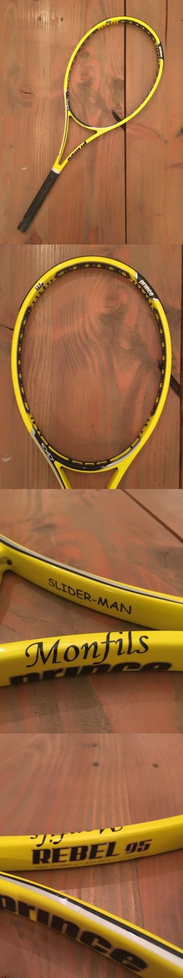 Racquets 20871: Prince Pro Stock Gael Monfils Exo3 Rebel 95 - Hairpin - Tx235p -> BUY IT NOW ONLY: $180 on eBay!