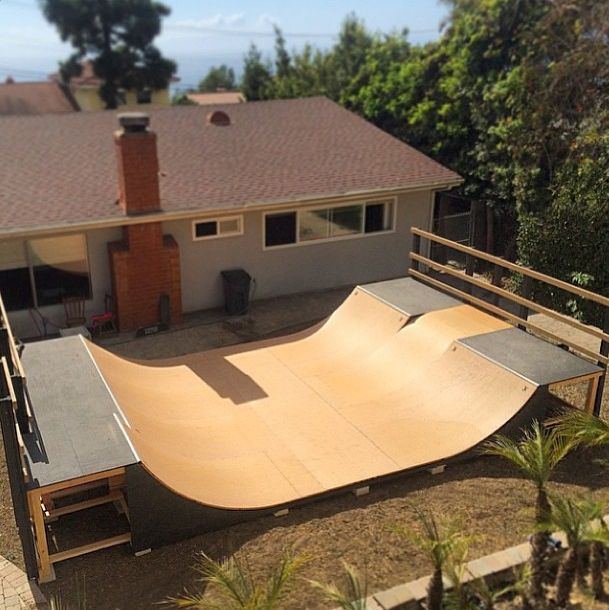 Delicieux SKATE HOME: Would You Like This Ramp In Your Backyard?
