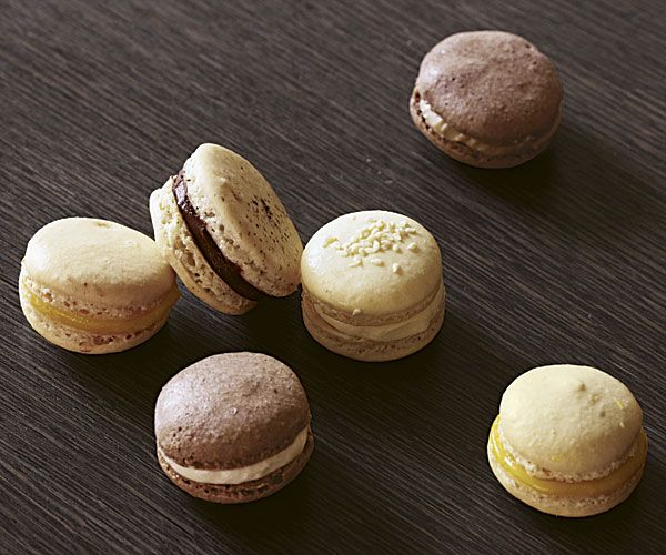 Joanne Chang's almond macarons with chocolate ganache from Flour Bakery