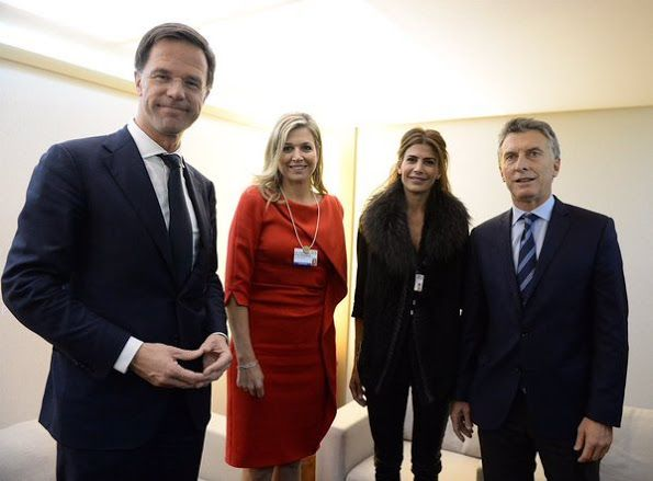 NewMyRoyals:  Queen Maxima at 2016 World Economic Forum, Davos, January 2016