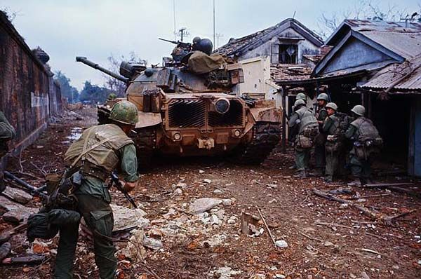 Marines during Battle of Hue