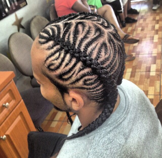 Peachy 1000 Images About Braided Hairstyles For Black Boys Men On Hairstyles For Women Draintrainus