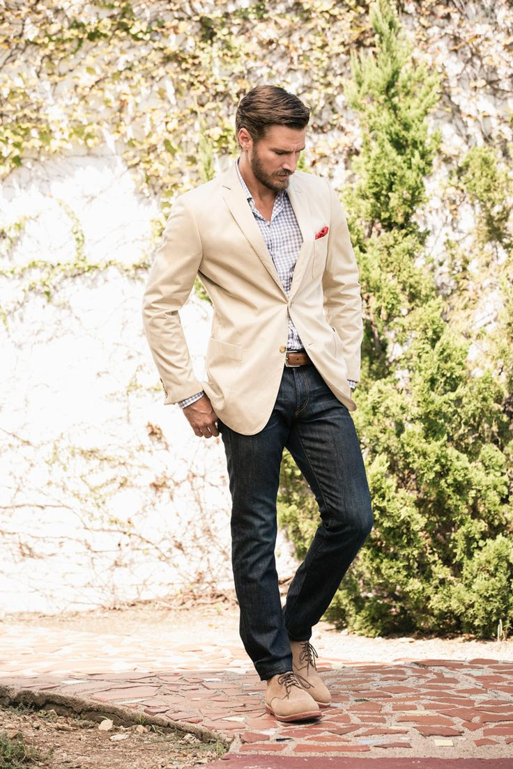 Awesome groom look for the rehearsal or showers by J. Hilburn. #wedding #groom #menswear
