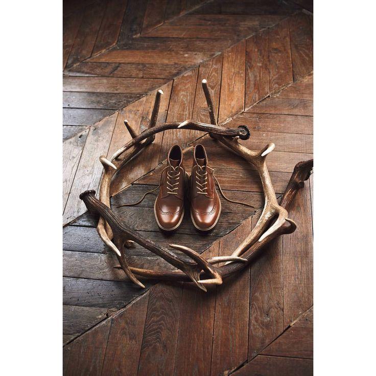 Chaussures HOMME BROWN BRITTEN BROGUE MID - AIGLE
