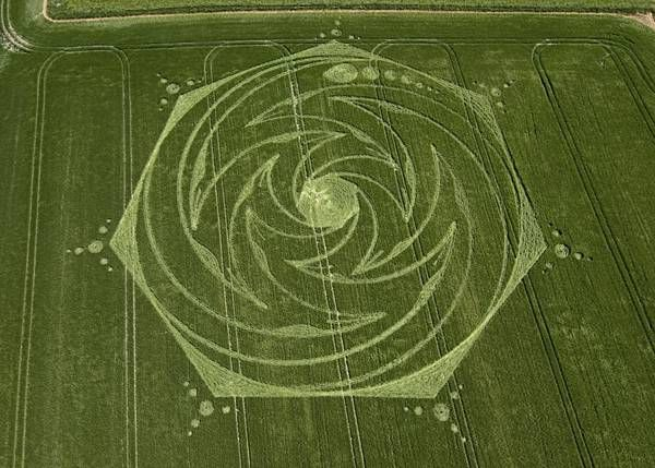 how to create crop circles
