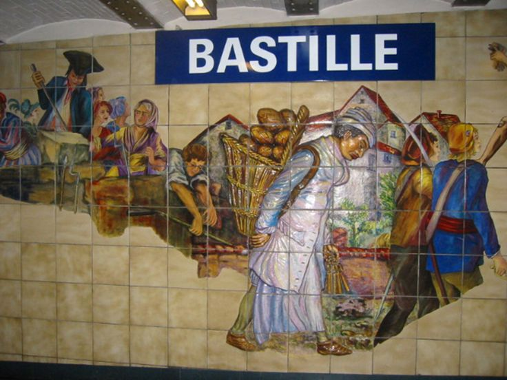 Some visitors exit the métro at Bastille expecting to see a foreboding fortress. They should have stayed down in the subway station. When a disgruntled mob stormed the prison on that fateful night in 1789, sparking the Revolution, they didn't actually tear up the massive medieval building on the spot. As early as the next day, pieces of the prison started being sold off as souvenirs, much like chunks of the Berlin Wall would be centuries later.