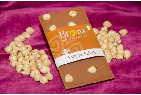 Milk Chocolate covered in whole hazelnuts.  http://www.marketdirect.ie/buy-handmade-chocolate-gifts-online/whole-nut-milk-chocolate