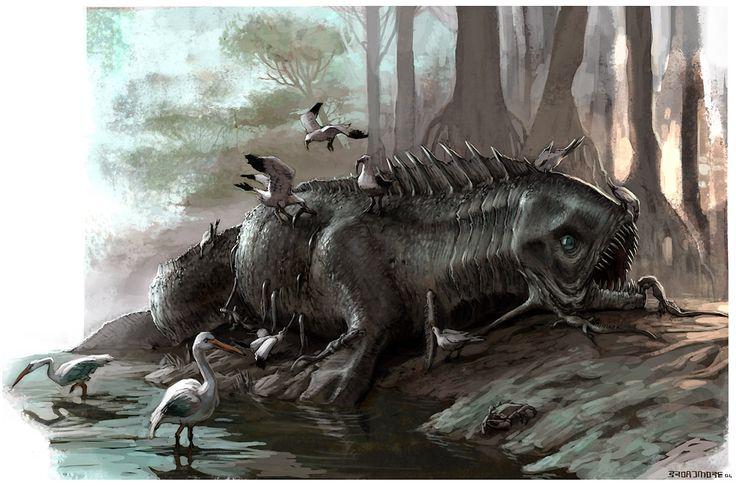 Greg broadmore creature design i pinterest - King kong design ...