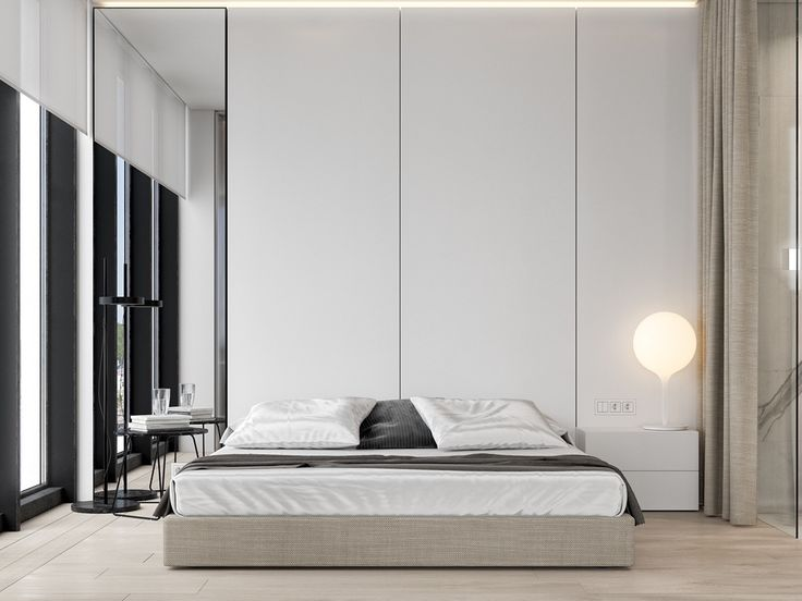 Bedroom: Cool Contemporary Small Bedroom Design Ideas And Honey Comb Headboard With Built In Reading Lights Also With Small Pendant Lighting For Grey Bedroom Along With Wool Carpet Bedroom from Cool Bedroom Lights for Elegant Bedroom Design