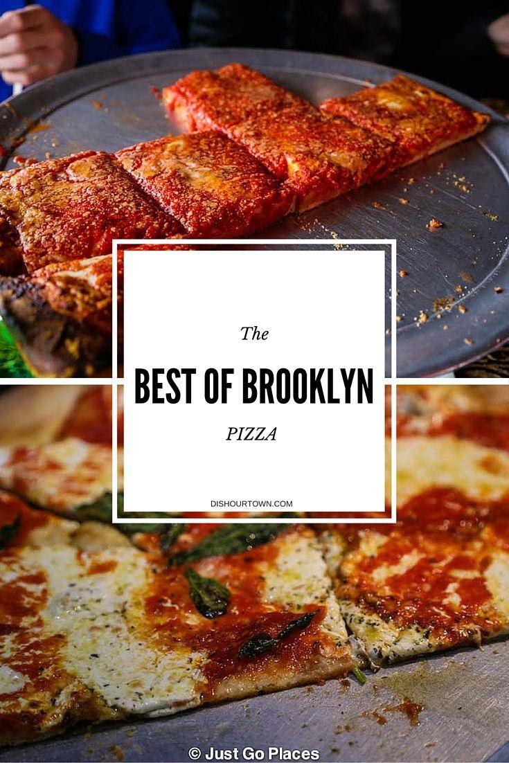 The Best of Brooklyn Pizza via @DishOurTown