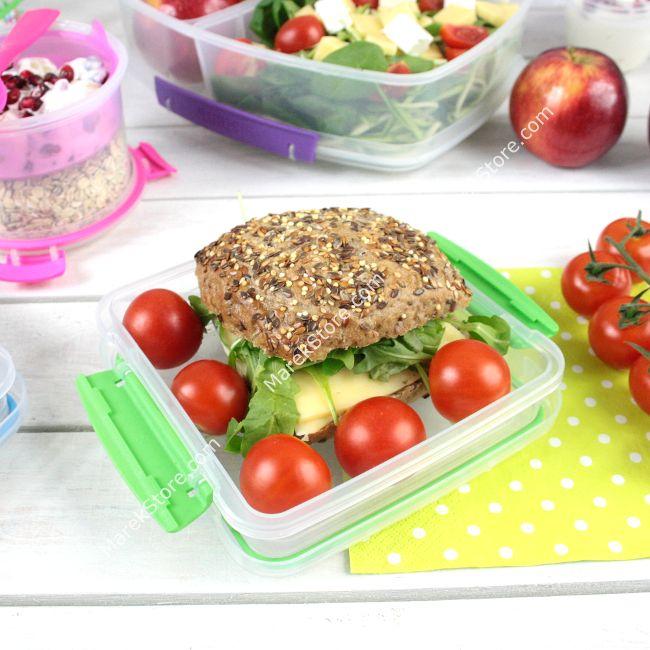 Hermetyczny lunch box / pojemnik śniadaniowy na kanapki SISTEMA TO GO | Sistema | 10,99 zł