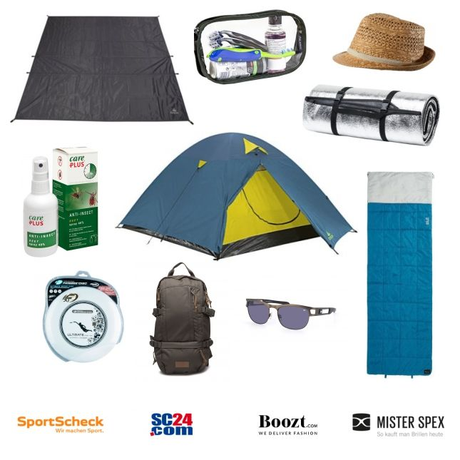 Camping-Ausrüstung