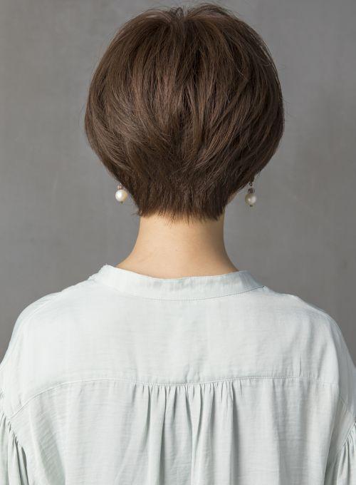 上品ラフショート(髪型ショートヘア)