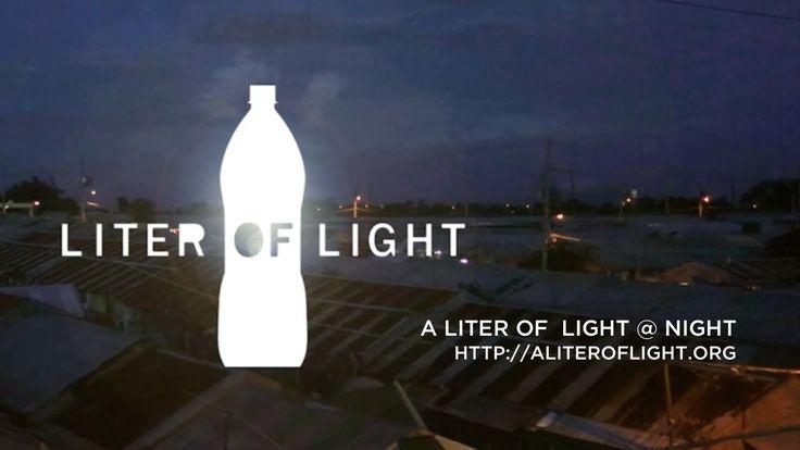 A Liter of Light @ Night 多一個創意 可以幫助到許多人,真是太棒了 我是【永琳塑膠】│台中.塑膠專業射出.吹氣成形包裝容器製造 如需更多資訊,請造訪 http://www.ylpi-bottle.com/ 或Email給我們您最寶貴的建議:saya@euma-cosmetic.com 我支持落實垃圾分類回收,資源再利用. 本影片很有教育意義借分享(Please inform if there is infringement) 影片來源:Jason Magbanua