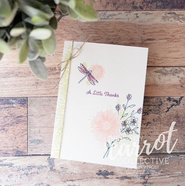 Touches of Texture, One Big Meaning, 2017-2018 In Colours, Stampin' Up! Australia, Layering and masking technique, Cardmaking, Customer rewards program, Papercraft by Jennifer Frost, The Crafty Carrot Co