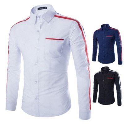 Racing Stripes Dress Shirt