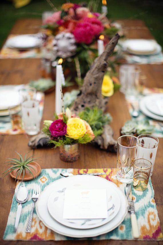 Rustic, Southwestern wedding inspiration