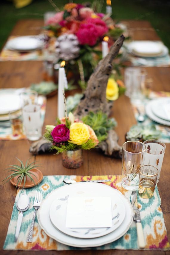 Rustic navajo wedding inspiration | Photo by Betsi Ewing Studio | Read more - http://www.100layercake.com/blog/?p=70839