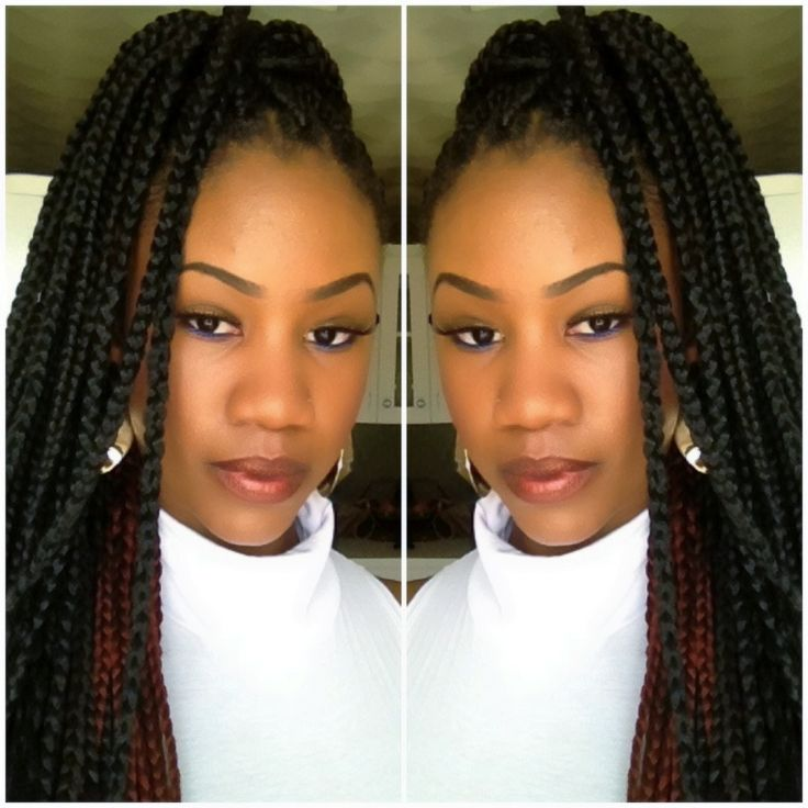 Phenomenal 1000 Images About Box Braids On Pinterest Protective Styles Short Hairstyles For Black Women Fulllsitofus