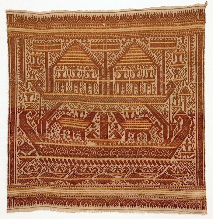 Tampan - Ceremonial Cloth  Lampung, Sumatra, Paminggir people  Late 19th century