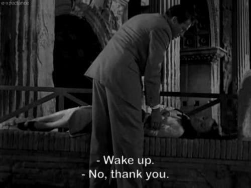 Roman Holiday- Audrey Hepburn&Gregory Peck                         me in the morning