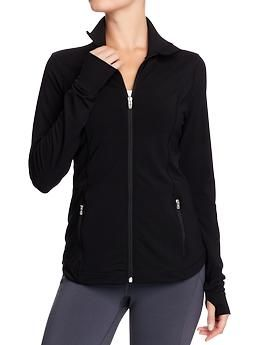 Women's Old Navy Active Compression Jackets | Old Navy.  Large (M is tighter around the waist/bust, has pull lines).  $35
