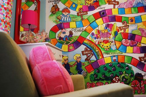 Candy themed nursery room oh the fun we 39 ll have pinterest for Candy themed bedroom ideas