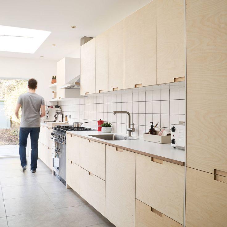 Best 25 plywood kitchen ideas on pinterest peg boards for Birch veneer kitchen cabinets