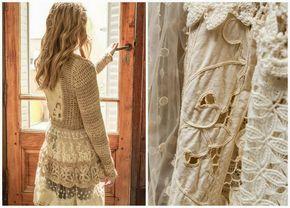 María Cielo: Sacos tejidos de Paula y Agustina Ricci