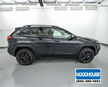 Gray 2017 Jeep Cherokee Trailhawk for Sale | Blair, NE | Woodhouse Chrysler Dodge Jeep Ram