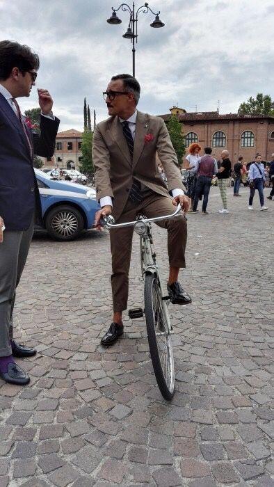 Fabrizio Oriani Pitti 90 Photo: Stil Masculin