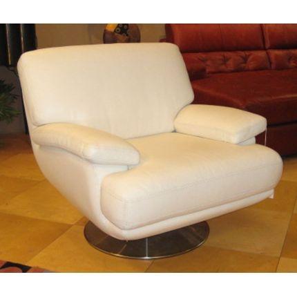 Chateau d'Ax White Swivel Chair