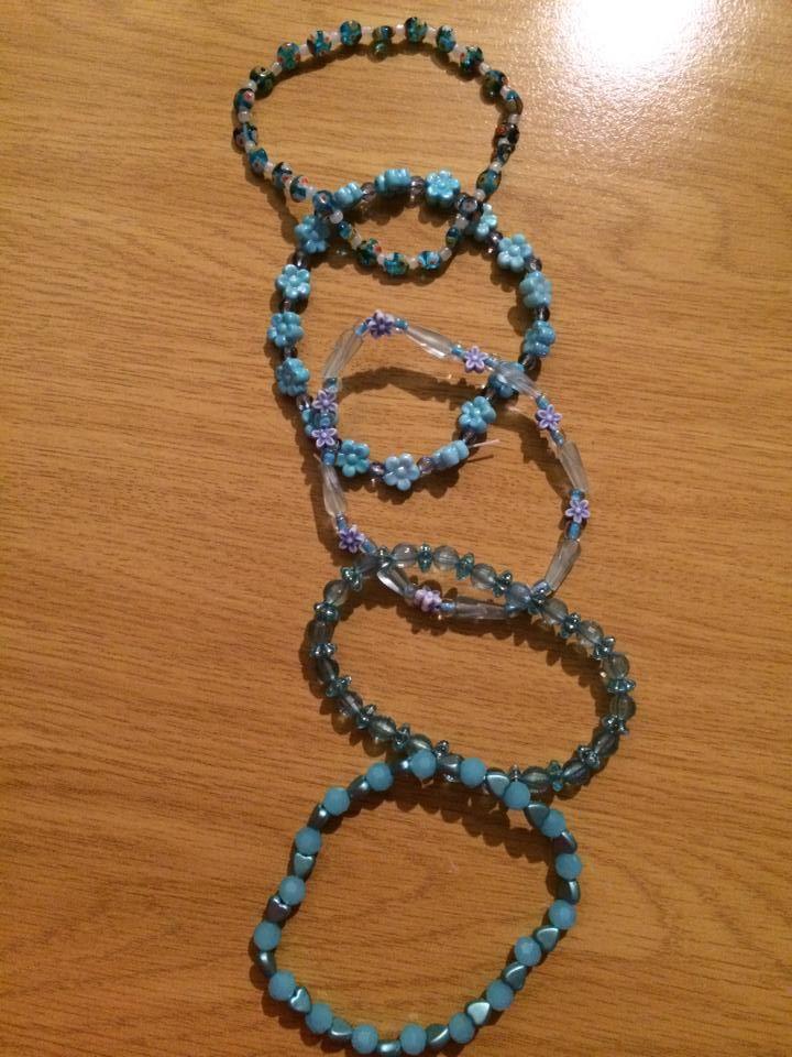 Blue mix and match set 2