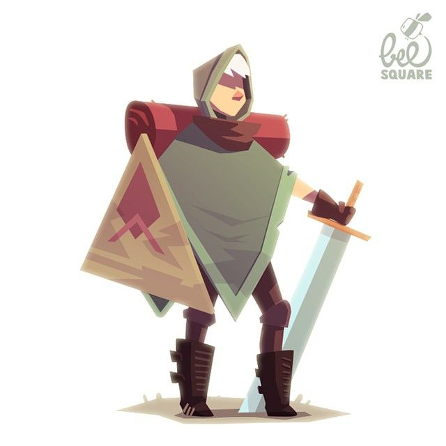 J E R Ô M E // He wants to grow as a person and needs to do this via being in an epic adventure! #characterdesign I did for @beesquaregames :D