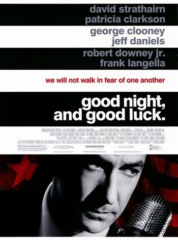 Good Night Black And Good Luck Movie Poster 11 X 17 Luck