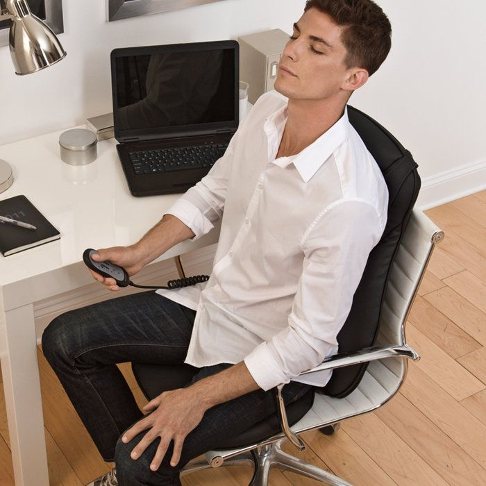 One day I really want to have a nice office chair and then a shiatzu massage thing on top :)