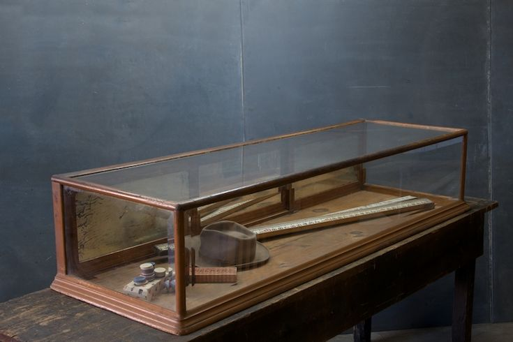 Huge 19th Century Display Cabinet : Factory 20