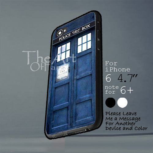 tardis doctor who Iphone 6 note for  6 Plus