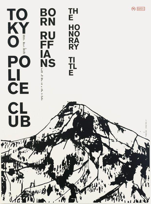 graphicporn: Tokyo Police Club