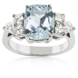 aquamarine+engagement+rings | Aquamarine Engagement Rings
