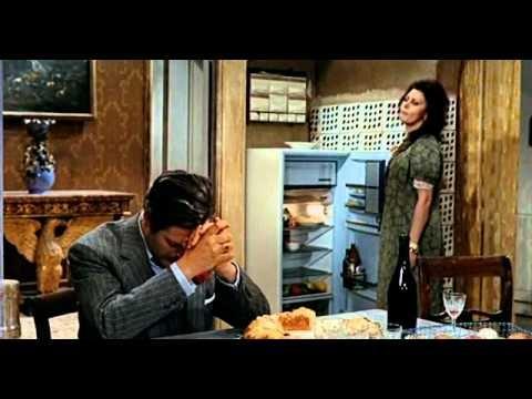 MATRIMONIO ALL' ITALIANA:   Marcello Mastroianni, Sophia Loren,  Regia V. De Sica