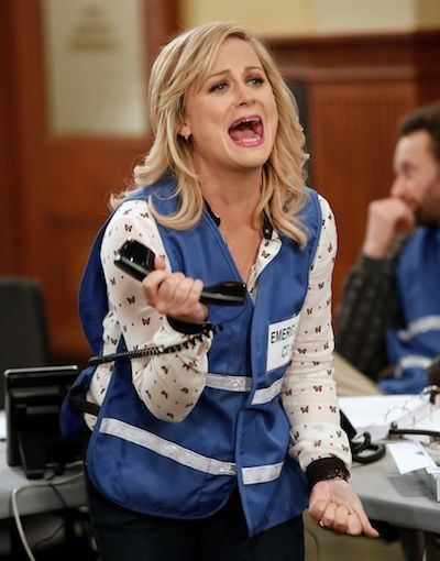 "Amy Poehler's Leslie Knope can be intense in her fervent quest for political righteousness, but could it ever escalate into homicidal tendencies? That's just the question this new ""Parks and Recreation"" trailer poses."