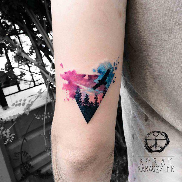 Triangle Forest by koraykaragozler.deviantart.com on @DeviantArt