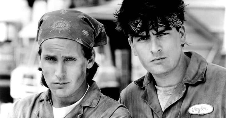 Back in 1990, Charlie Sheen and Emilio Estevez were equally famous. The two sons of Hollywood legend Martin Sheen graduated from Brat Back movies to blockbusters like Wall Street (Charlie) and Young Guns (Emilio). They teamed up in 1990 for Men At Work, the best movie ever made about two lazy garbage men who stumble into a criminal underworld after finding a toxic waste dumping operation. For whatever reason, nobody has referenced this movie in any capacity since sometime in early 1992.