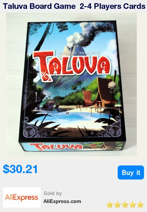 Taluva Board Game  2-4 Players Cards Game Classic Tactics Games Send English Instructions Free Shipping * Pub Date: 14:48 Jul 3 2017